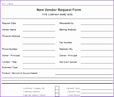 accounts payable forms