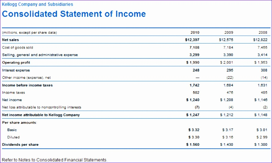 financial statements templates for excel 2 910547