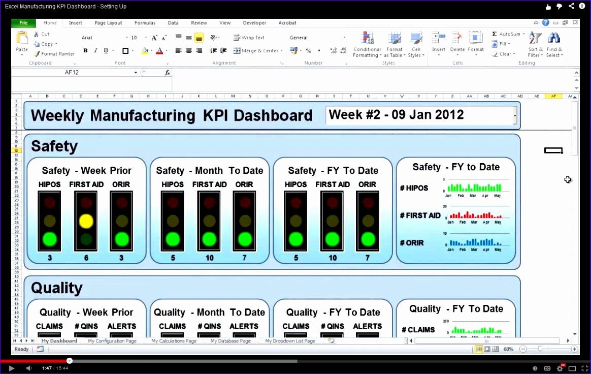 10 excel kpi dashboard templates exceltemplates exceltemplates safety kpi excel template 1464 alramifo Choice Image