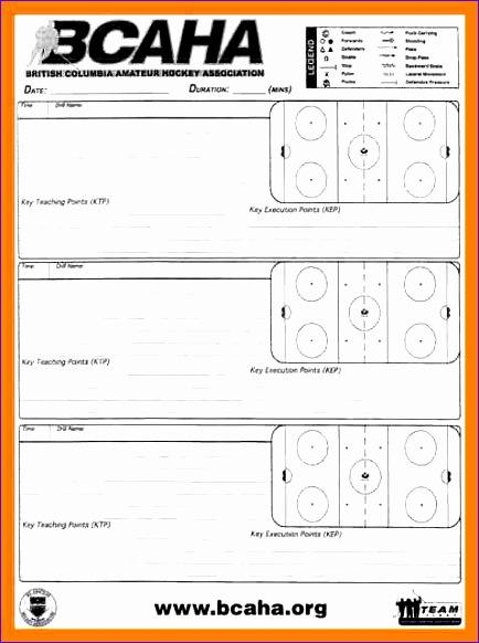 7 hockey practice plan template 434582