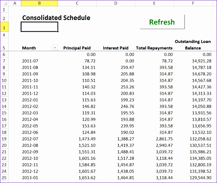 Excel Loan Calculator Template  Exceltemplates  Exceltemplates