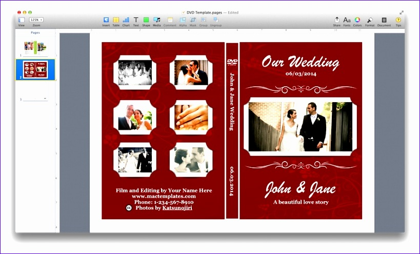 dvd cover template 819495