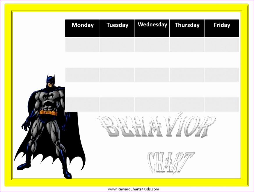 batman behavior charts 873662