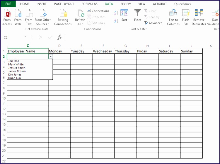 how to add a drop down list in excel 751562
