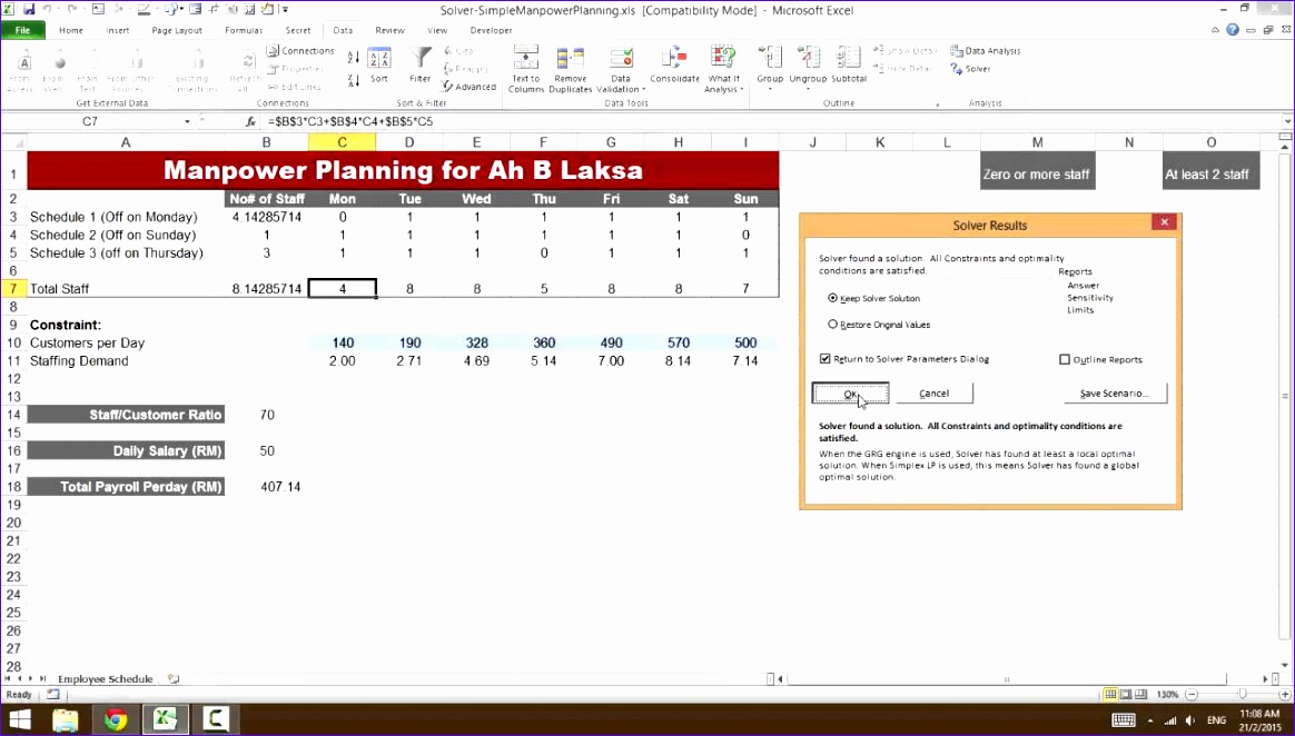 8 excel manpower planning template exceltemplates for Manpower forecasting template