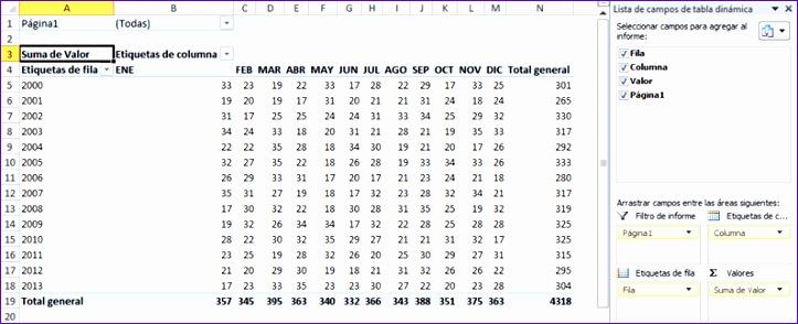 convertir datos de una matriz en columnas en excel 723294