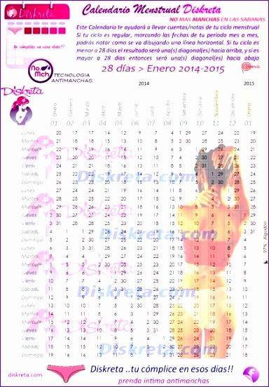 7280 calendario menstrual 2016 para imprimir 384552
