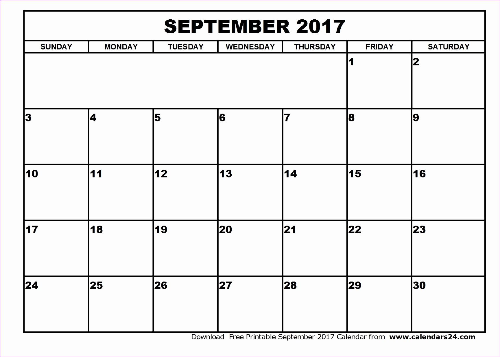 september 2017 calendar 2032