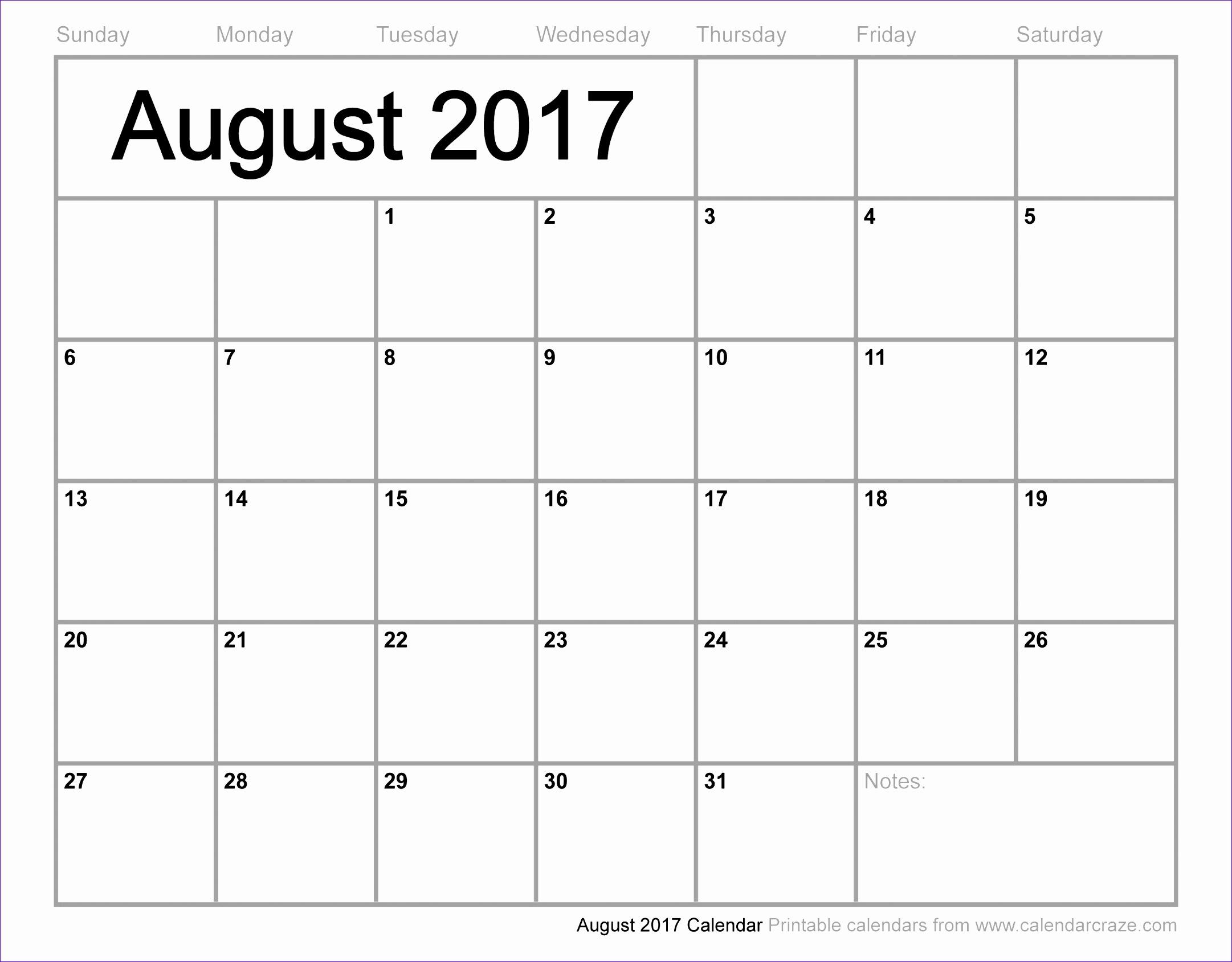 august 2017 calendar cute 373