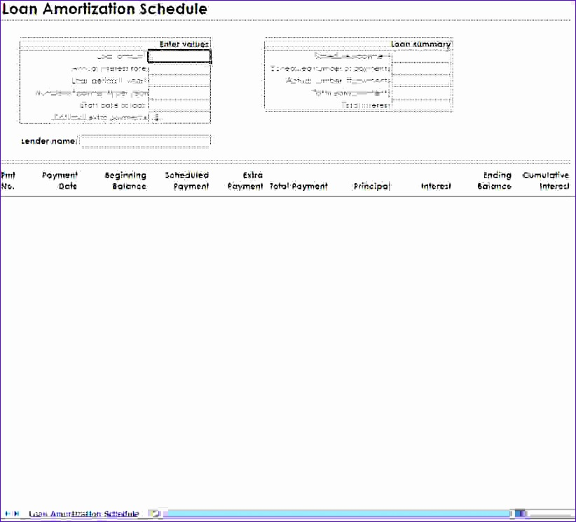 12 excel mortgage template - exceltemplates
