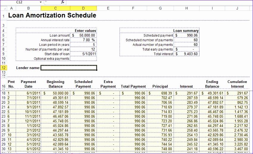 Excel Mortgage Template O8igg Inspirational Excel Loan Amortization formula Arm Calculator Free 936564