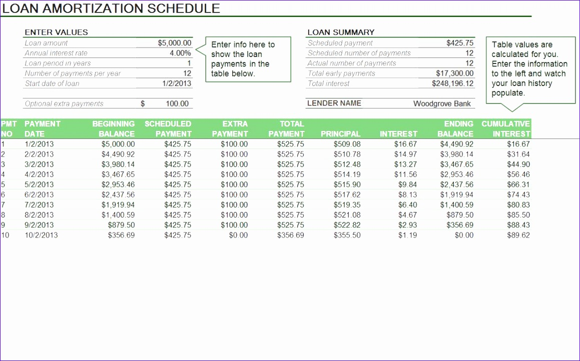 12 excel mortgage template exceltemplates exceltemplates for Amortization formula excel template