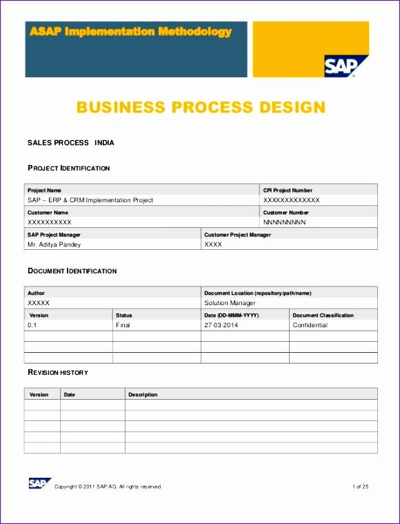 sap sd business blue print e1 sales template 580759
