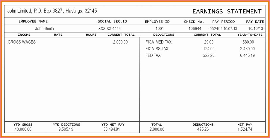 payroll check template 922472