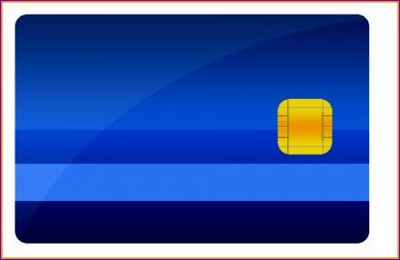 6 blank credit card 440287