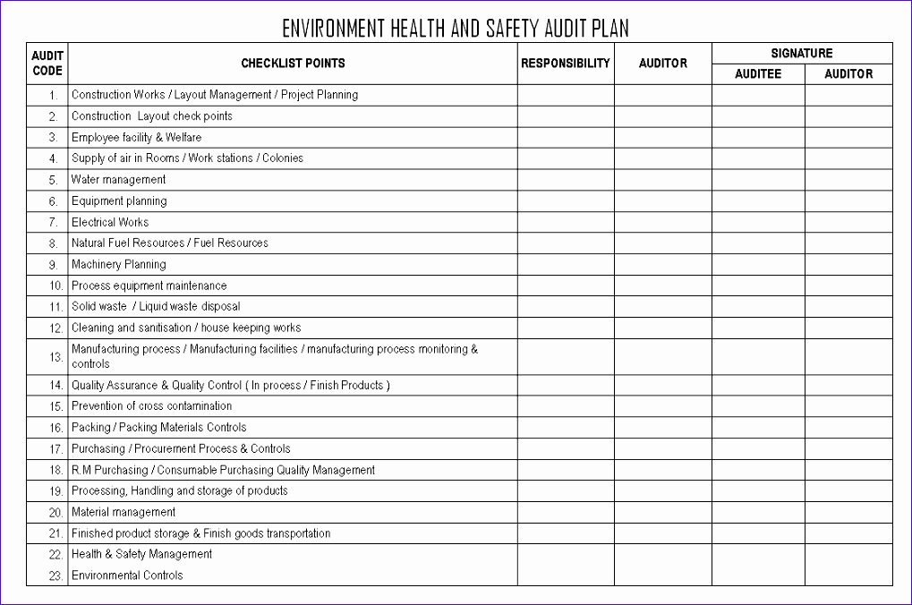sample work plan