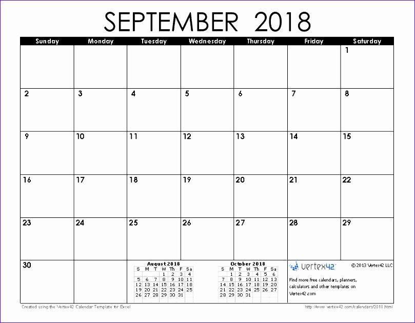 Excel Perpetual Calendar Template Nuily New 2018 Calendar Templates