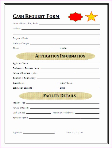 Excel Petty Cash Template Jugdj Unique Cash Request Form 402521