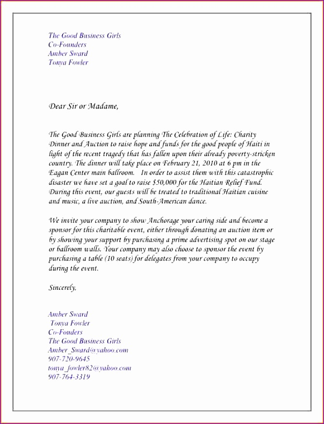 8 invitation letter informal 667872