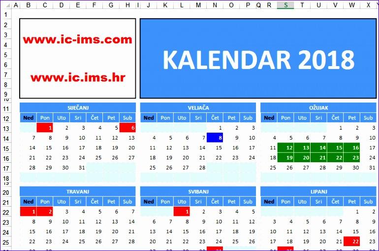kalendar u hrvatskoj 770509