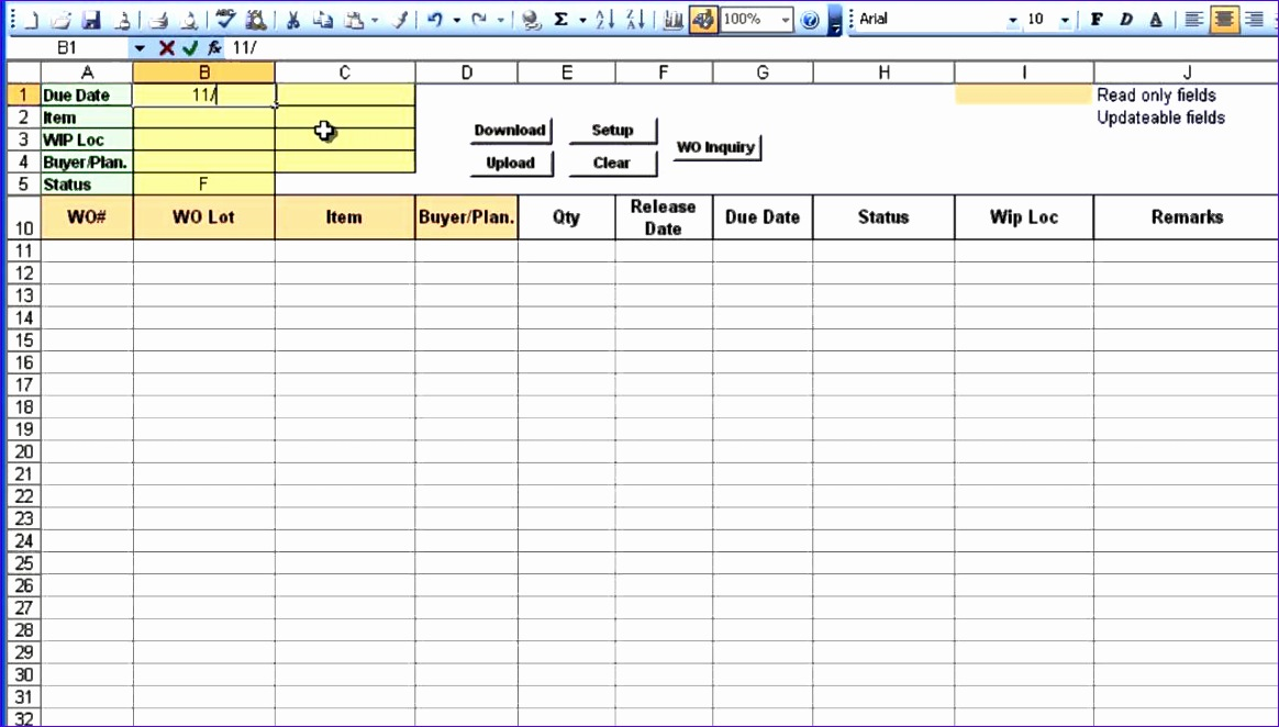 free purchase order template excel 1164662