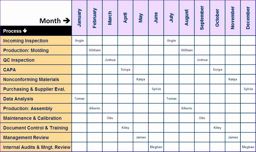 11 Excel Programme Template Exceltemplates Exceltemplates