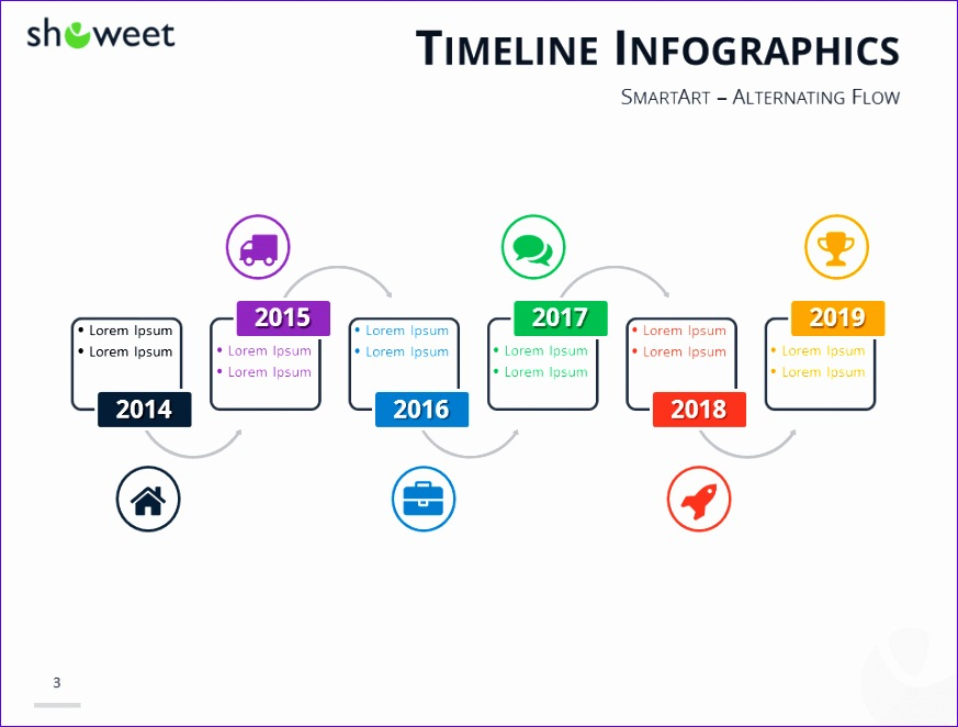 timeline infographics templates for powerpoint 873662