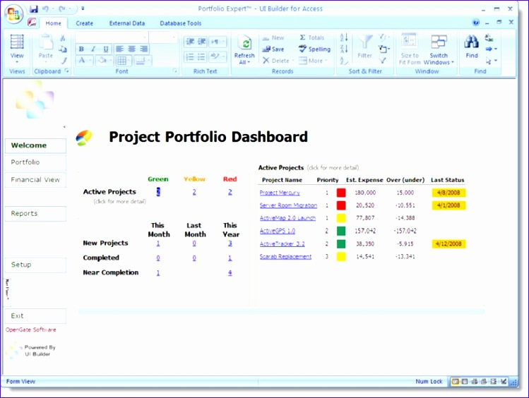project daily status report templates 749564