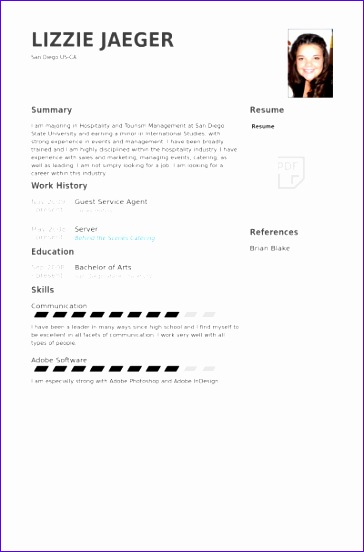 guest service agent cv examples 364552