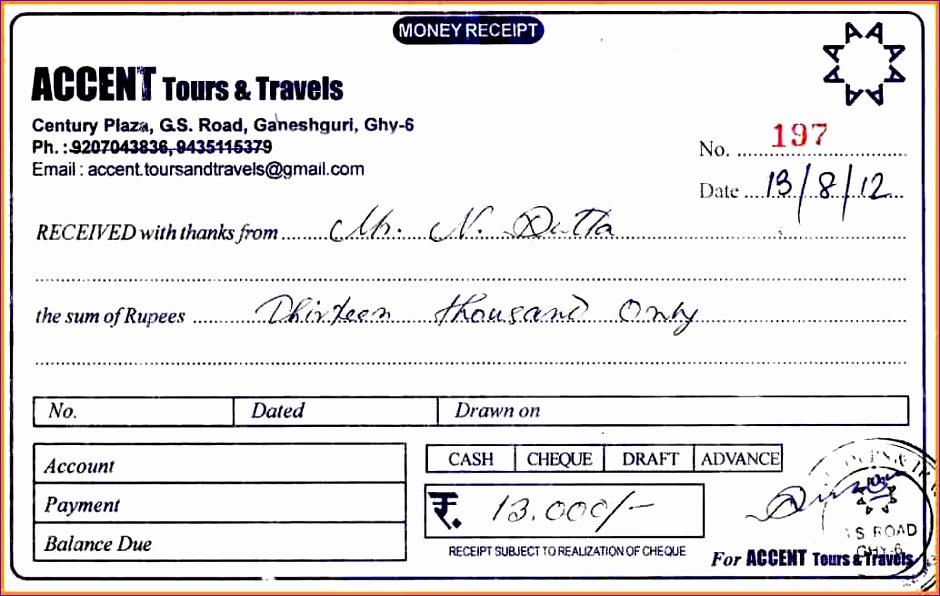 travel invoice 940596