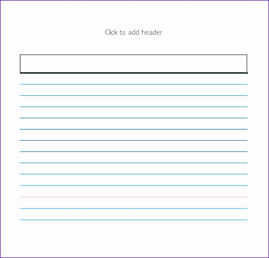 index card template 527506