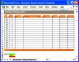 10 Excel Requirements Template