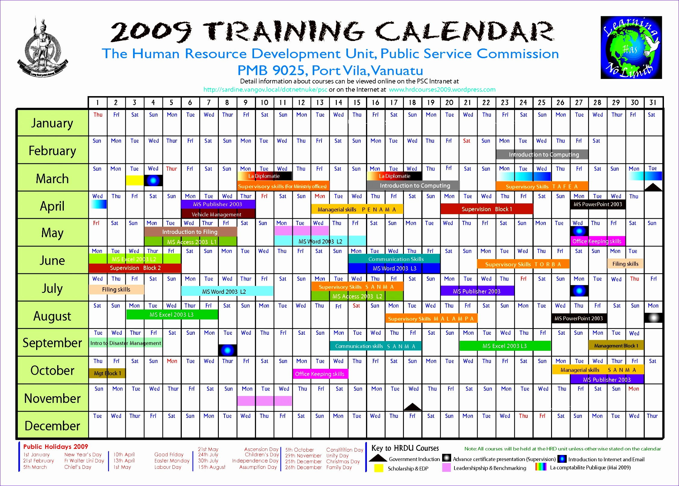 training calendar template 22561613