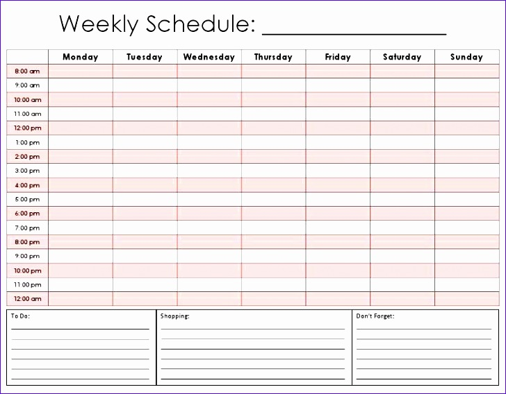 weekly calendar by hour 156
