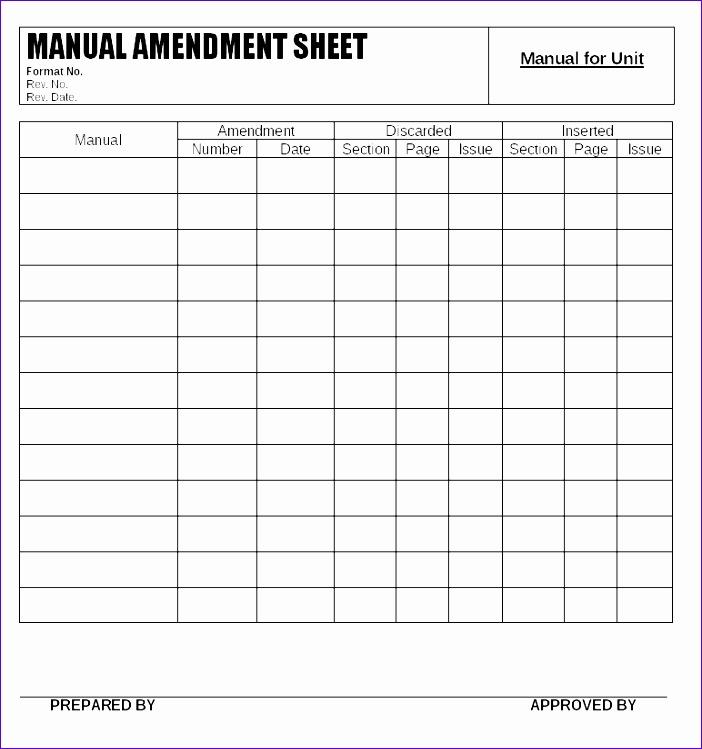 manual amendment sheet 702749