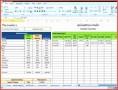 6  Excel Spreadsheet Schedule Template