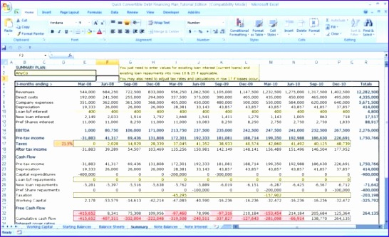 cash flow excel spreadsheet template 546333