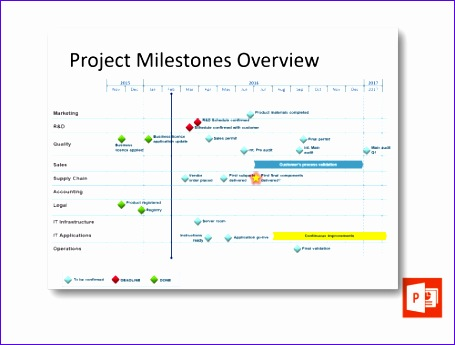project milestones overview 455345