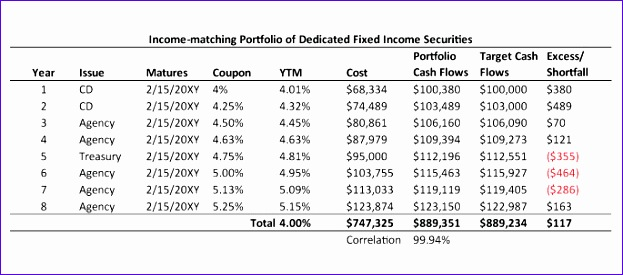 Dedicated portfolio theory 623275