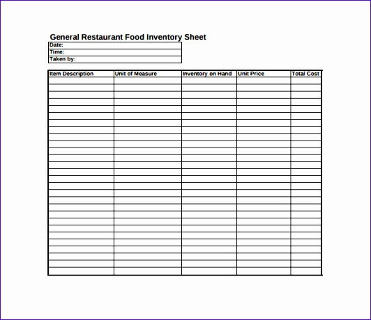 sample of free spreadsheet 532460