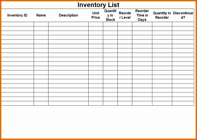 7 inventory sheet 825585