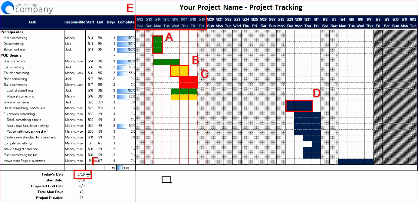 excel project planning spreadsheet version 2 1381667
