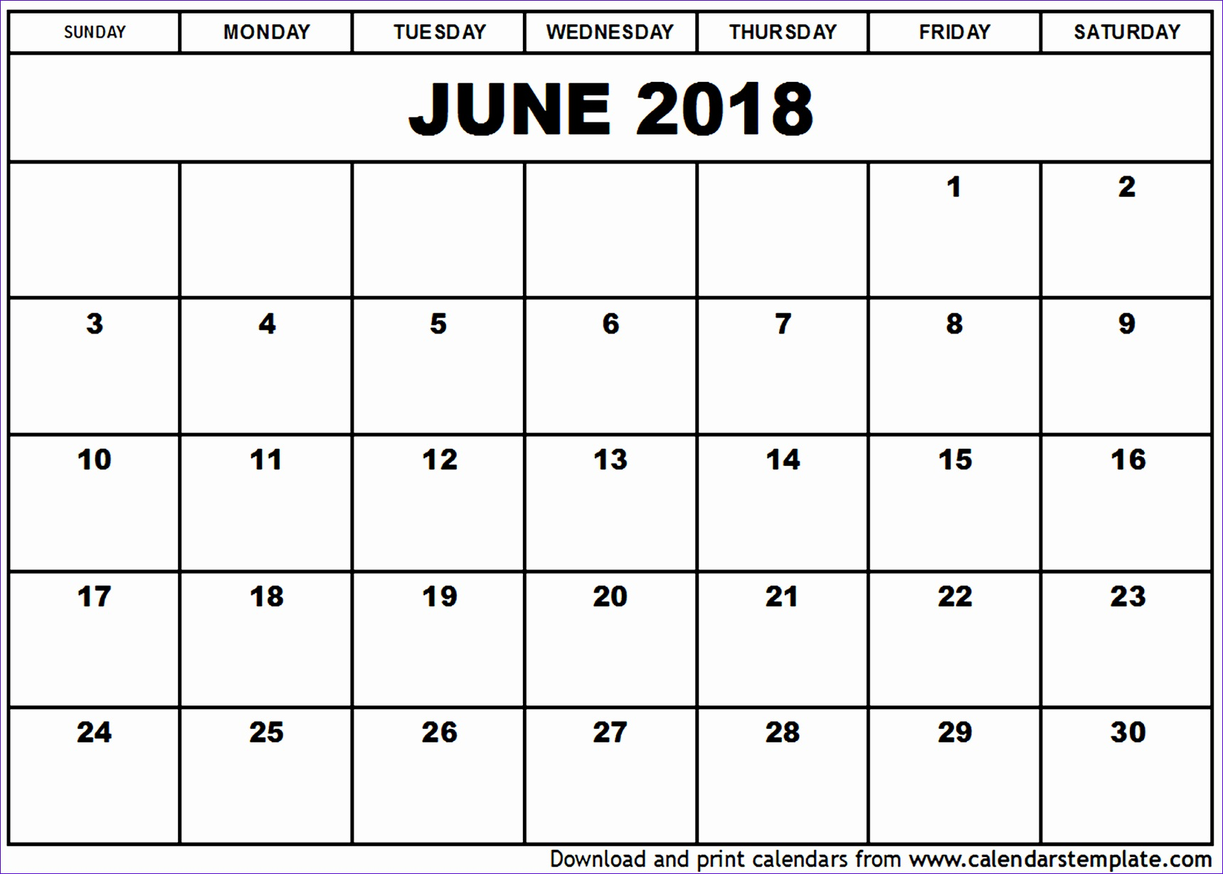 june 2018 calendar template 830