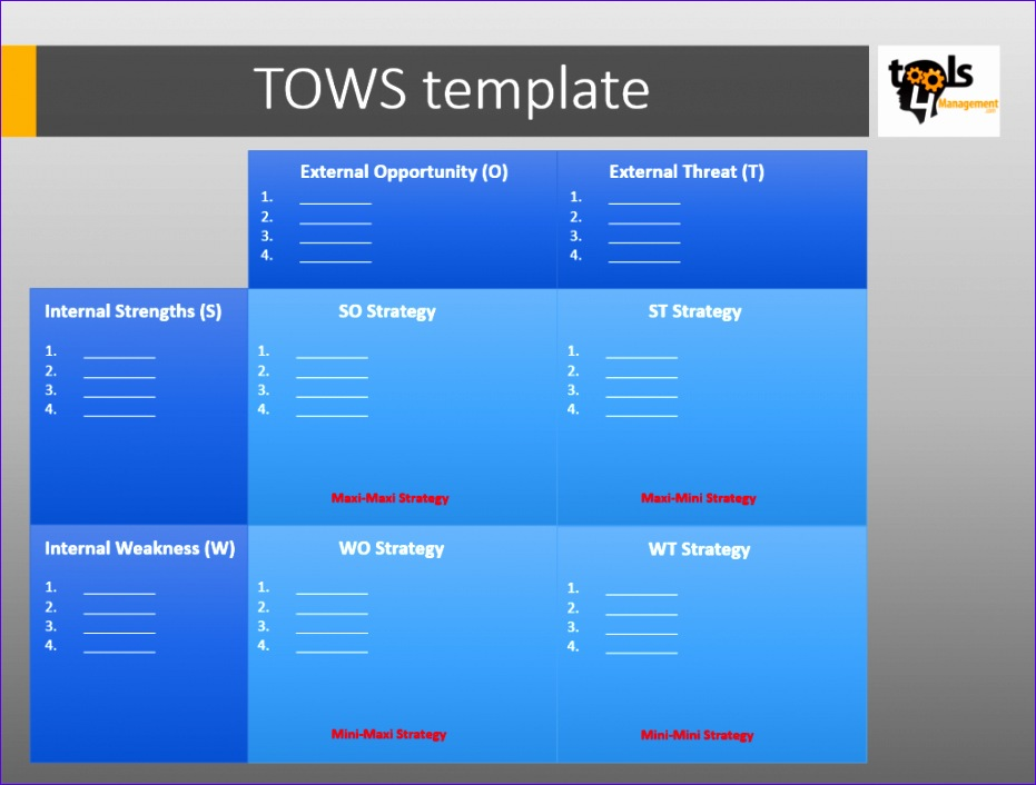 tows template 931706