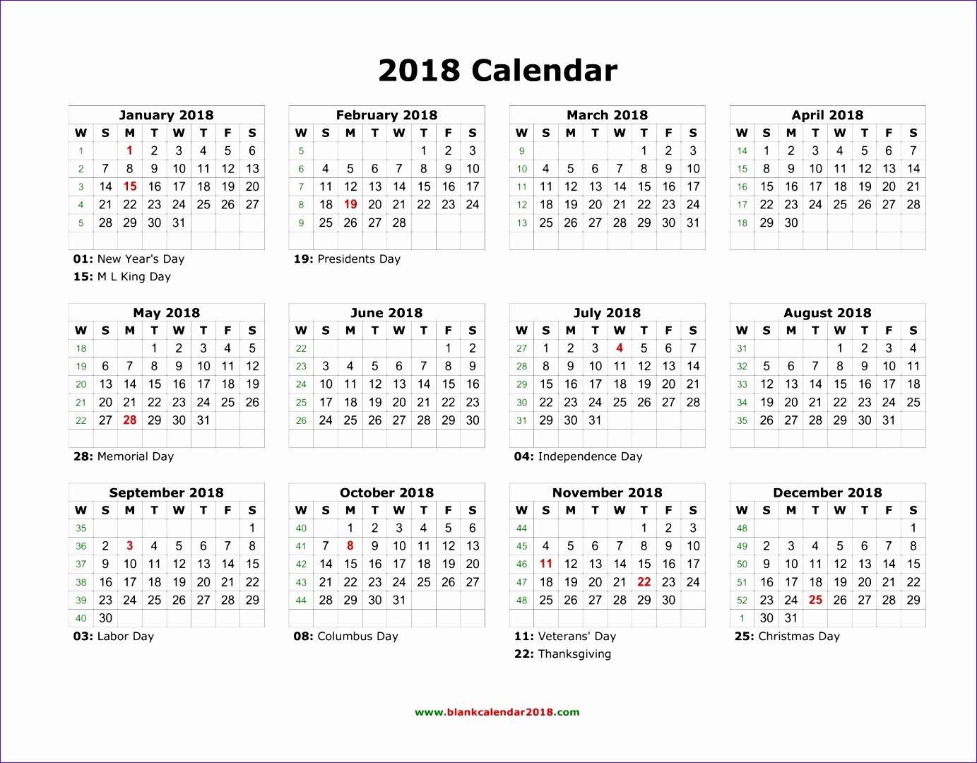 2018 calendar 1798 13831080