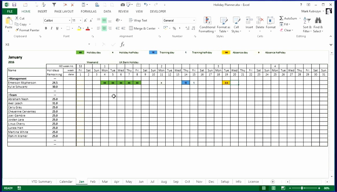 excel holiday calendar 168 1164662