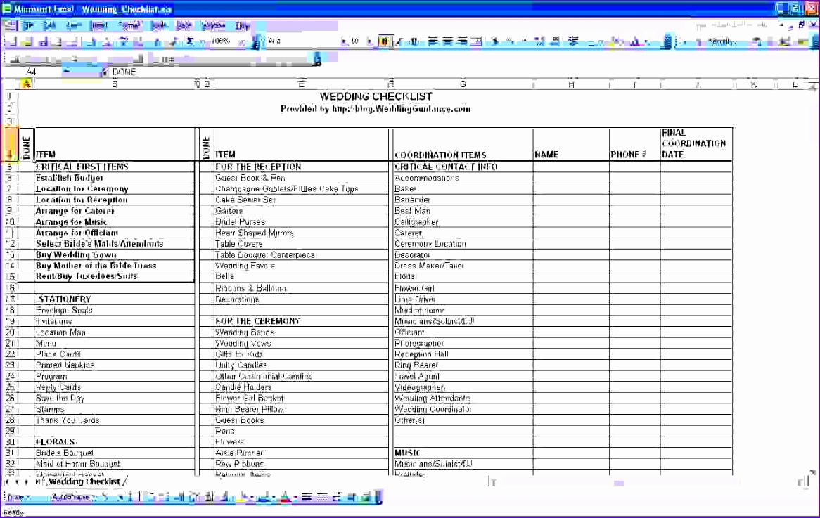 6 wedding cost checklist 1166737