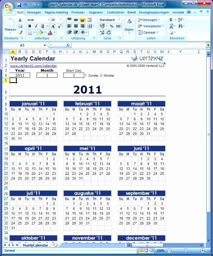 kalenders maken 681820