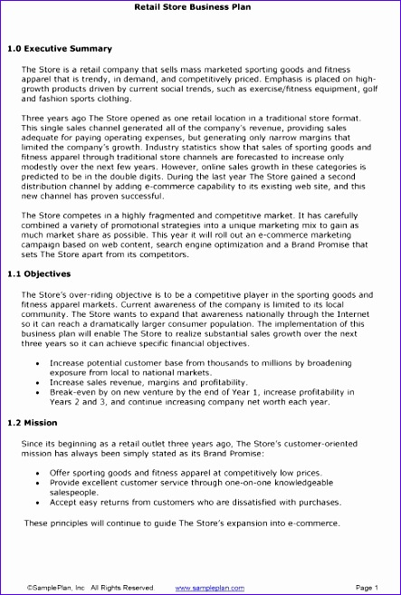 short business plan template 443657