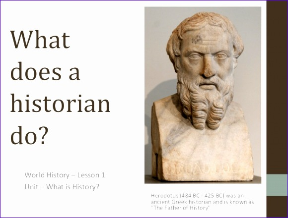 lesson 01 what does a historian do